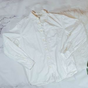 H&M white button down shirt